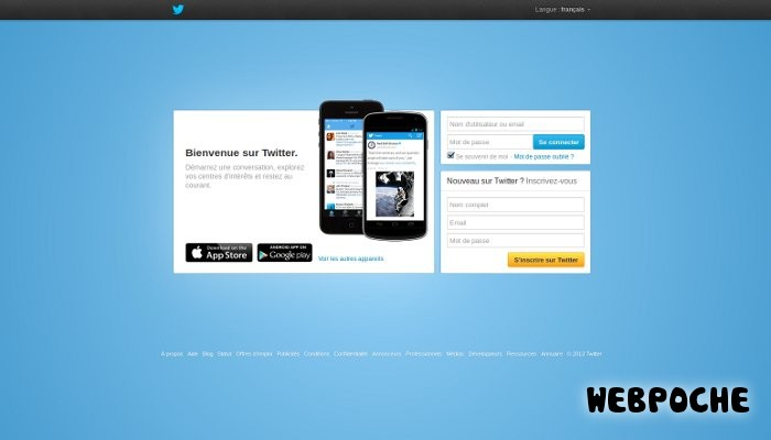 compte twitter inscription