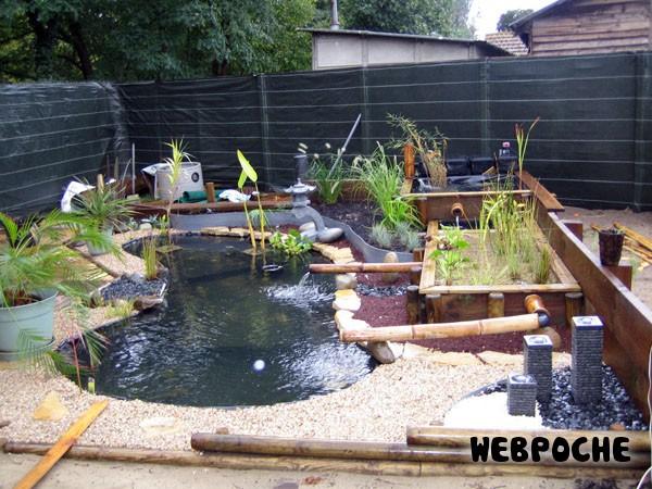 Les barri res de protection pour bassin - Protection bassin de jardin ...